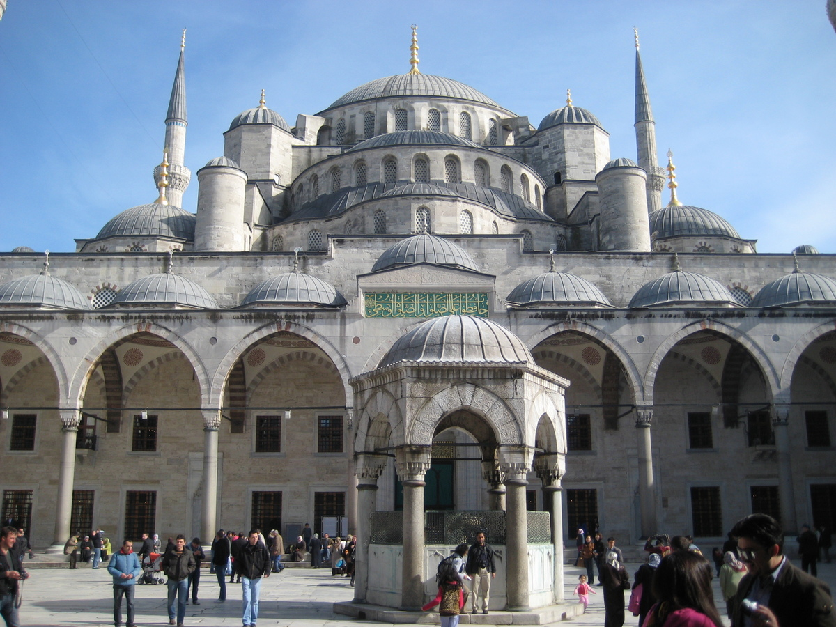 Mosques around the world for Blue istanbul hotel taksim