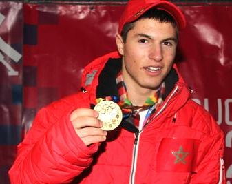 In 2012, Morocco's Adam Lamhamedi won a gold model in the junior Olympics in Innsbruck, Austria, the first African to achieve such an honor.