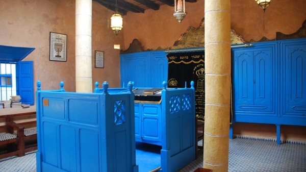 Morocco Synagogue Gets Spruce Up