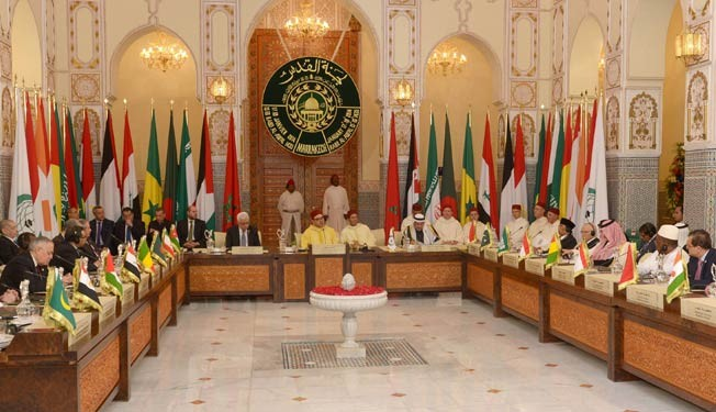 King Mohammed VI chairs al-Quds Committee meeting to advance Middle East peace initiative on January 17-18, 2014 in Marrakesh. Photo: MAP
