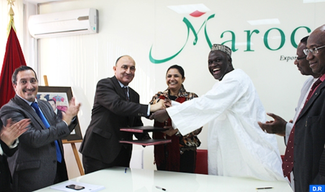 "Morocco's exports center ""Maroc Export,"" Casablanca fairs and exhibitions office (OFEC), and Mali's trade and industry chamber (CCIM), signed action plans for economic and trade cooperation, following up on the visit by King Mohammed VI to Mali in February 2014. MAP"