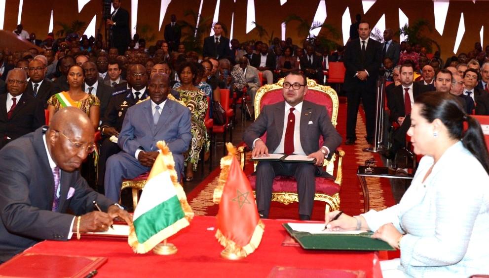 Abidjan Africa Map in Abidjan Photo Map