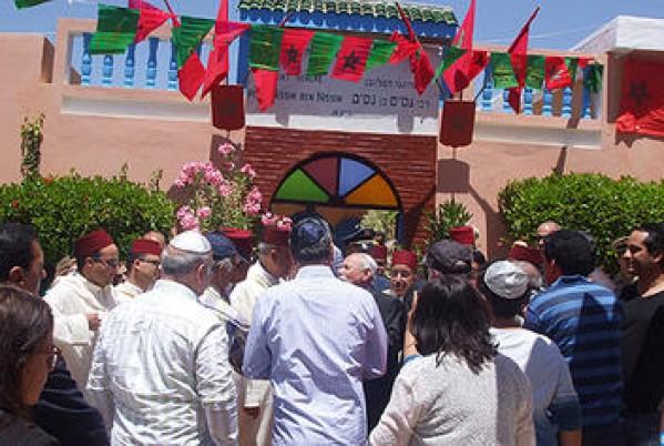 Moroccan Jewish community marks the annual festival of Rabbi Nessim Ben Nessim in  Aït Bayyoud near Essaouira.  Photo: MAP