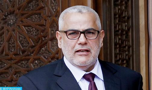 Morocco's Prime Minister Abdelilah Benkiran. Photo: MAP