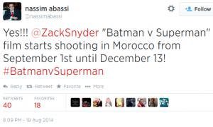 Tweet Morocco Movie