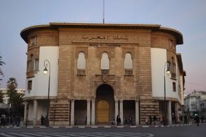 Bank al-Maghrib. Photo: Alan Cordova