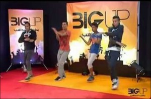 '' Big Up'' gives young Moroccans a chance to show off their talent on national TV. Photo: [Medi1]