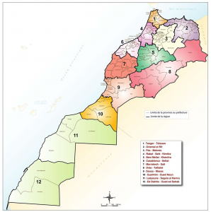 Morocco's Regionalization Map