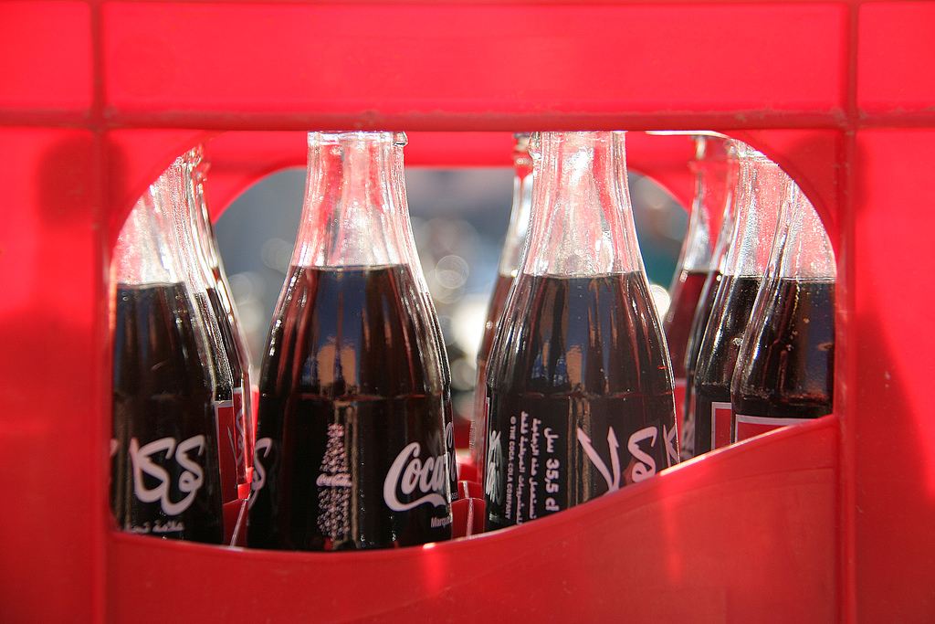Coca-Cola bottles in Marrakech. Photo: Frank Douwes on Flickr.