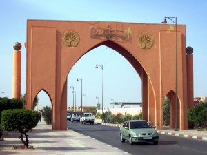 Photo of Laayoune gateway by David Stanley on Flickr.