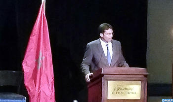 Minister Delegate Mamoune Bouhdoud in Seattle