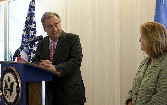 UN Secretary General António Guterres. Photo: United States Mission Geneva