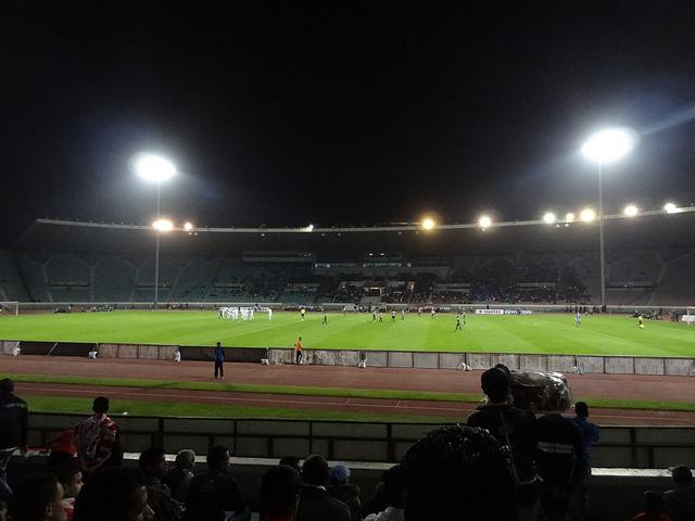 Wydad Casablanca v Maghreb Tetouan at Stade Mohamed V