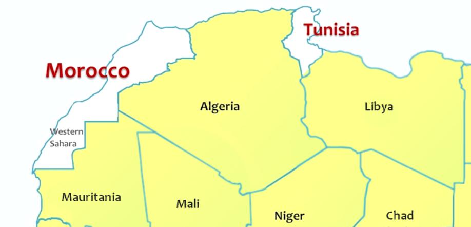 Morocco-Tunisia insert