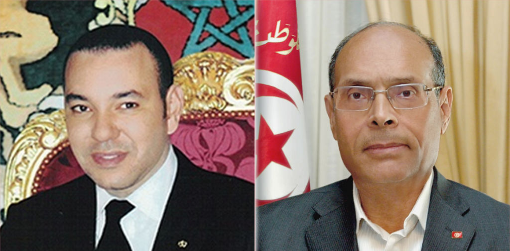 Morocco's King Mohammed VI will pay an official visit to Tunisia May 30 to June 1 at the invitation of President Marzouki. Photo: MAP, MOTM
