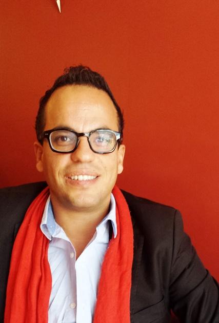 Filmmaker Kamal Hachkar. Photo taken April 2014 in Washington, DC.