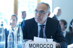 Morocco's Minister of Foreign Affairs and Cooperation Salaheddine Mezouar. Photo: UN Geneva