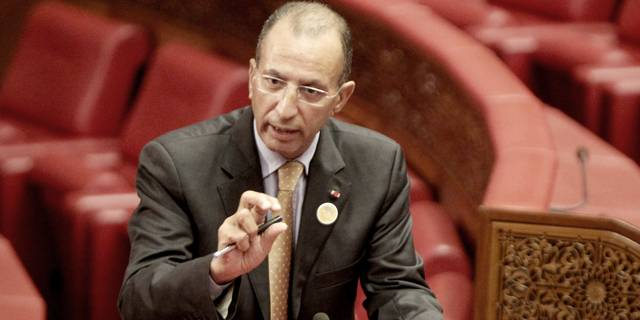 Morocco's Minister of the Interior Mohamed Hassad.