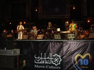 Performers at Rabat's Mawazine Festival.