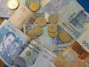 Moroccan Dirham. Photo:  Martin Kalfatovic