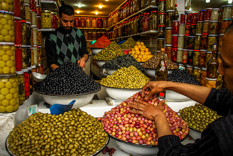 Olives Merchant