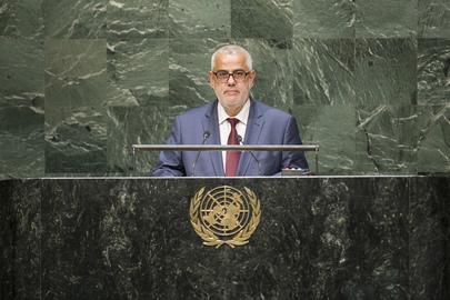 Prime Minister Abdelilah Benkirane delivered a speech on behalf of King Mohammed VI.
