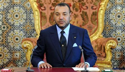 King Mohammed VI. Photo from file.