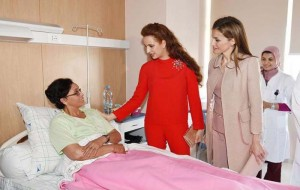 Princess Lalla Salma of Morocco visit Sheikha Fatima Centre for Gynaecological-Mammary Oncology