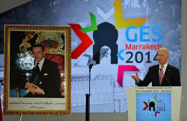 GES 2014 Biden Speech King