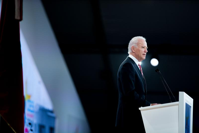 Vice President Joe Biden delivers the keynote address at GES 2014.