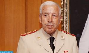 Général de Corps d'Armée Bouchaib Arroub. Photo: MAP