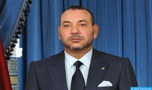 King Mohammed VI, January 7, 2015. Photo: MAP