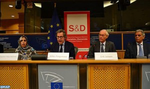 MEP Gilles Pargneaux speaks at a European Commission Event. Photo: MAP