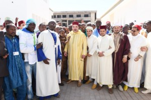 The Mohammed VI Institute for the Training of Imams, Morchidines and Morchidates. Photo: MAP