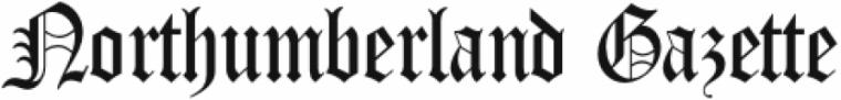 northumberland gazette