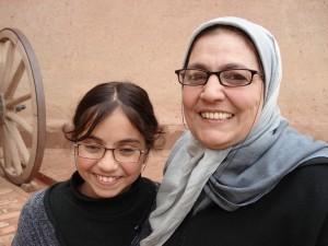 Mother and daughter in Casablanca. Photo credit: Julle Kertesz.