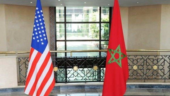 us morocco flags