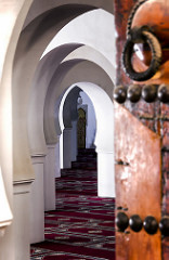 Mosque Archways by James Merhebi