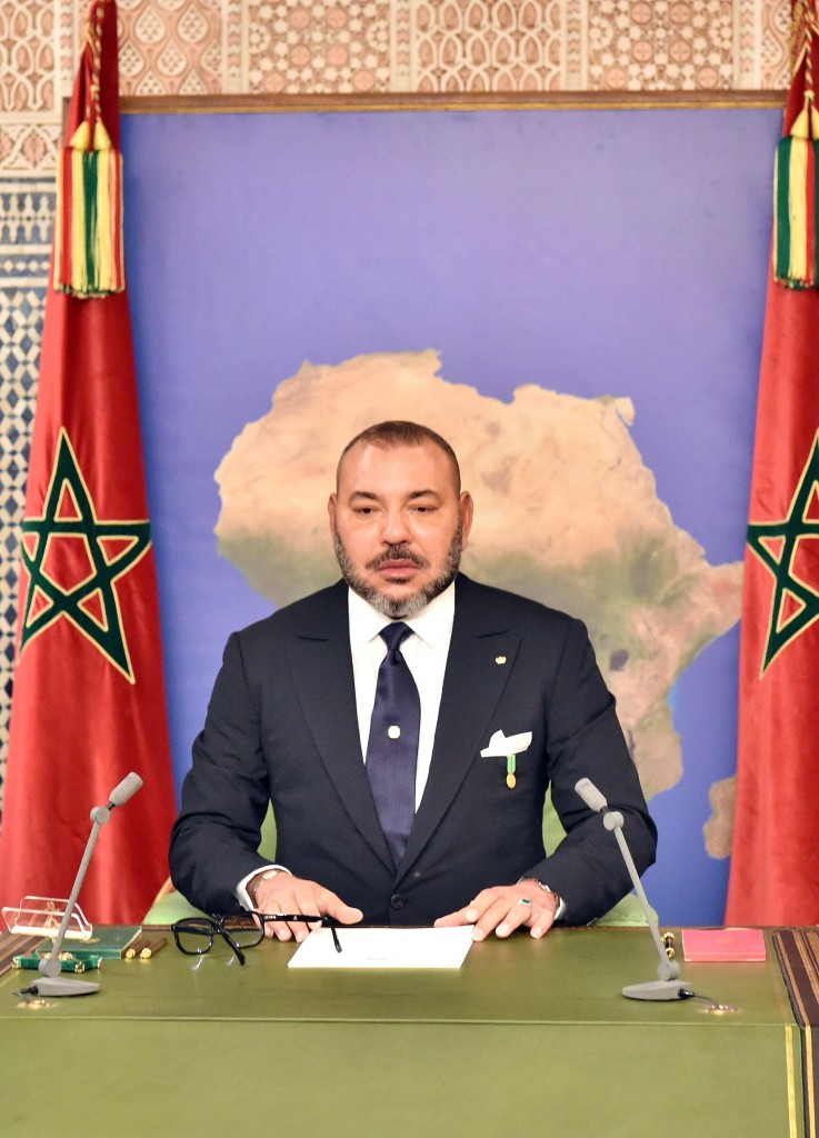 SM le Roi prononce un discours adressé à la Nation depuis Dakar