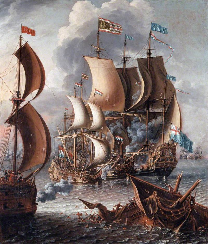 Laureys a Castro - A Sea Fight with Barbary Corsairs. Photo: Wikipedia Commons