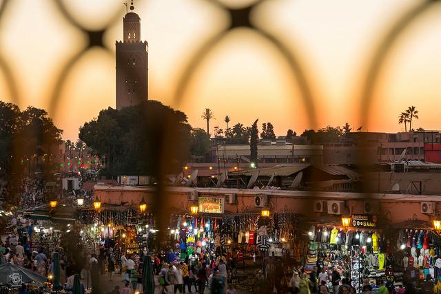 Evening at Jemaa El-Fnaa